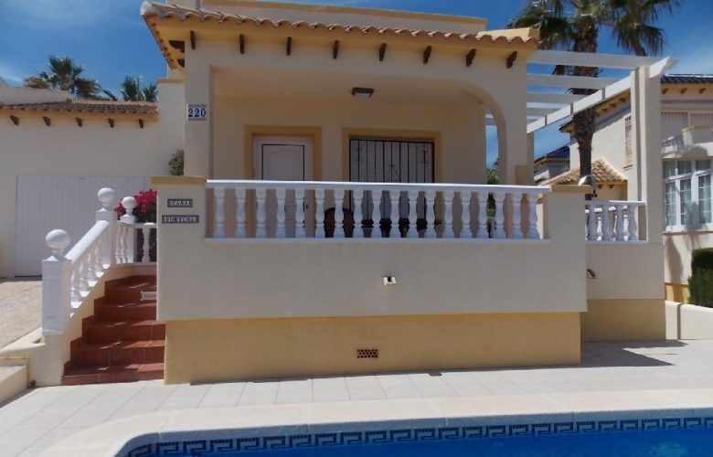 villa with pool las ramblas golf