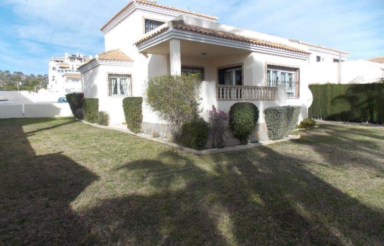 las ramblas villa with large plot