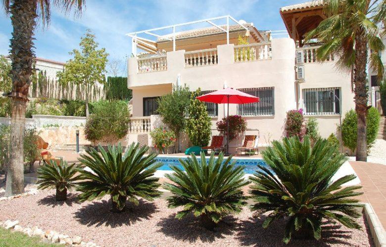 Villa with pool Las Ramblas